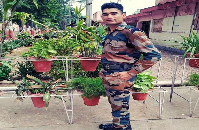 bulandshahr up s lal nishank raghav martyred in poonch weeds in the village