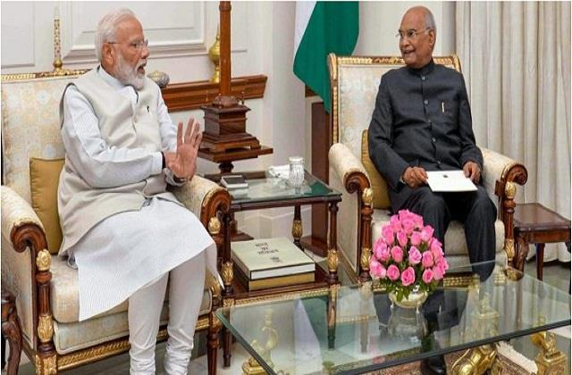 pm modi called president kovind son and inquired about his health