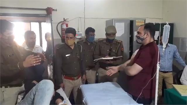 meerut bba student shot dead in shamli under university rivalry