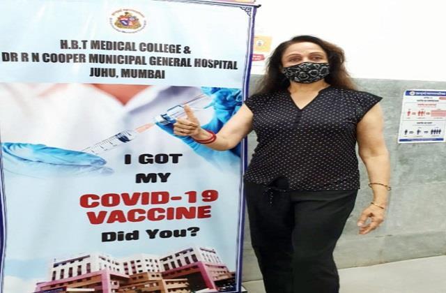 covid 19 vaccine hema malini