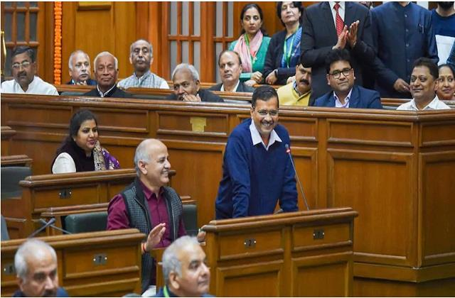 budget session of delhi legislative assembly will begin from march 8