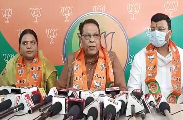 bjp leader s big statement before the body elections