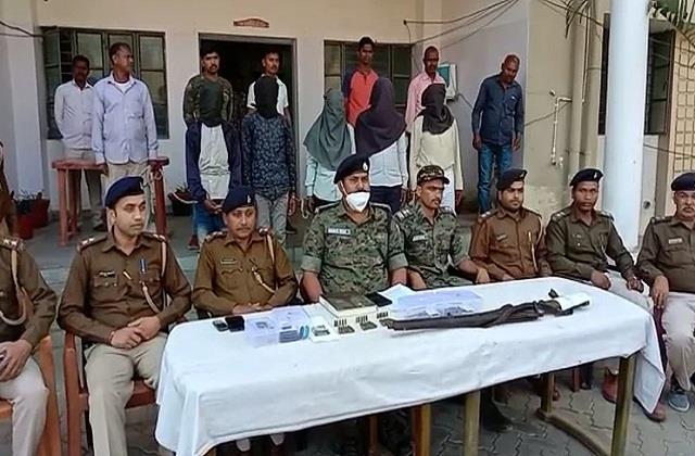 5 naxalites arrested in jharkhand