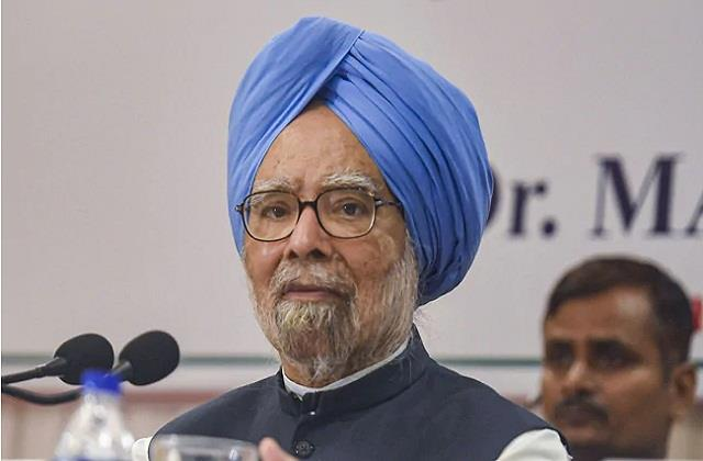 unemployment at peak due to modi deliberate decision manmohan singh