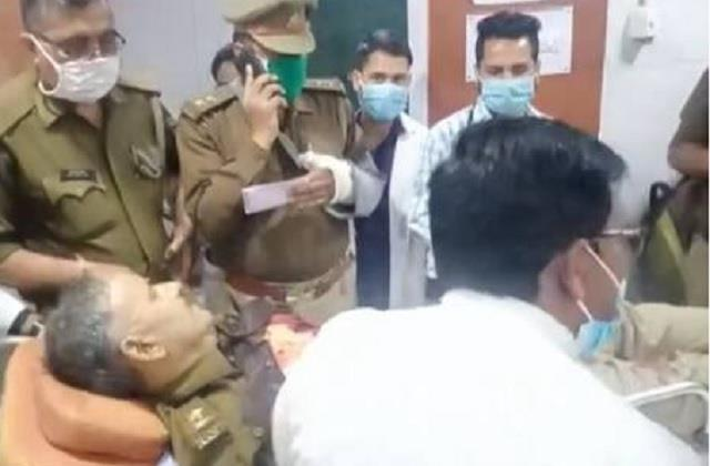 inspector posted in up assembly shot himself with service revolver