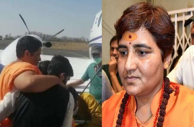 sadhvi pragya s health deteriorated