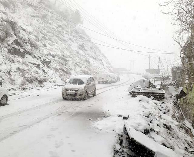 snowfall in rohtand and lahaul spiti