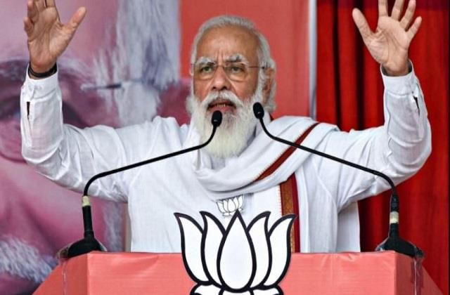 pm modi to start election campaign in bengal tomorrow
