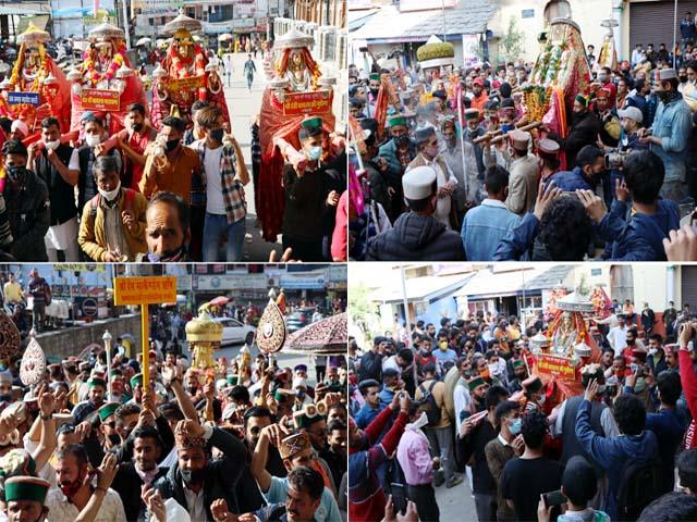 100 deities reach small kashi