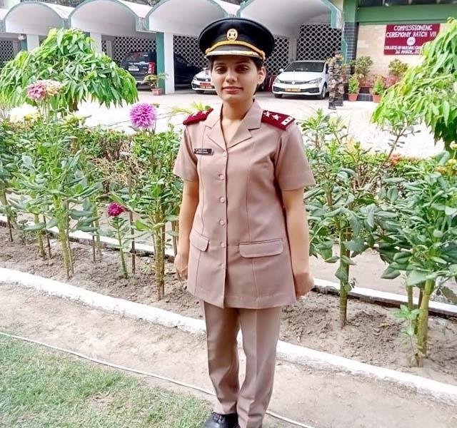loftinant made in madi s shivani military nursing services