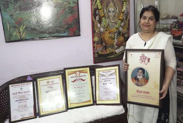 shikha khanna was broken after her husband s death