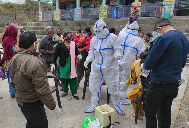 health department has 346 samples for students and teachers in saluni