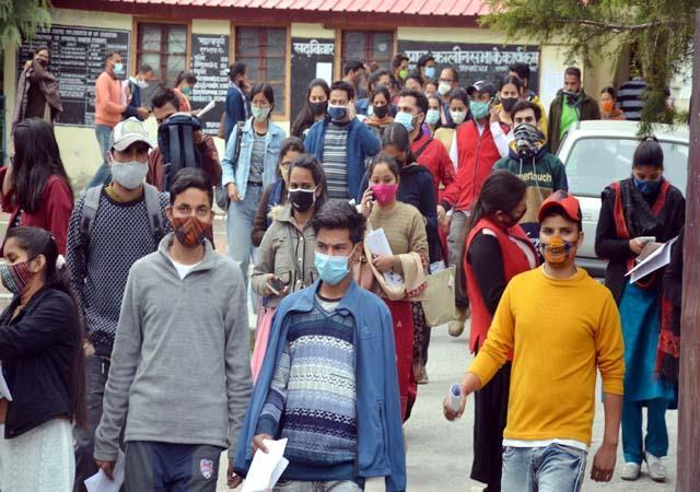 3774 candidates appeared for joa exam in kullu