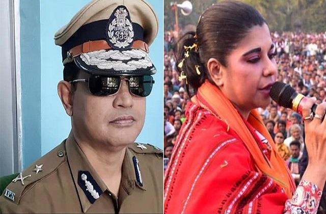 tmc vs bjp two former police officers face to face over debra assembly