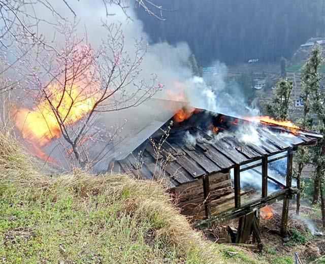 house burnt in gohar