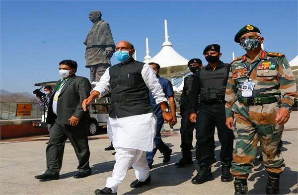 rajnath said in the commander s conference the army fought bravely with china