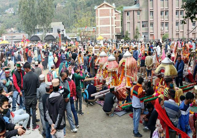 170 gods and goddesses appeared after one year in the historic paddal ground