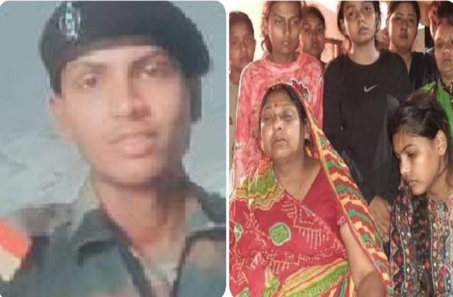 up s red ashwini martyred for the country blushed and said mother