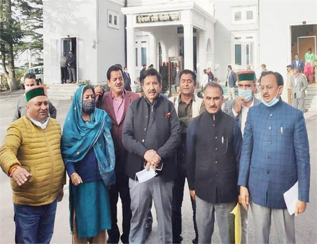shimla chief minister reply opposition dissatisfied