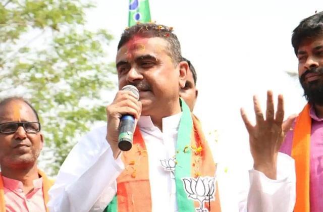 ec warns bjp leader shubhendu adhikari about  mini pakistan  statement