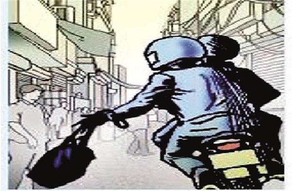 bike rider snatched purse