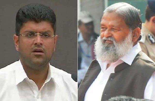 anil vij or dushyant chautala said that kisan agitation will end by dialogue