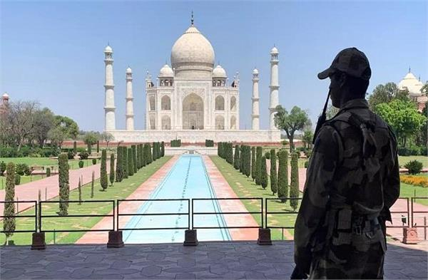 locks on all monuments including taj mahal will remain closed till may 15