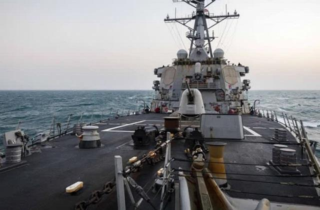 the entry of american warships into indian territory is a matter of concern