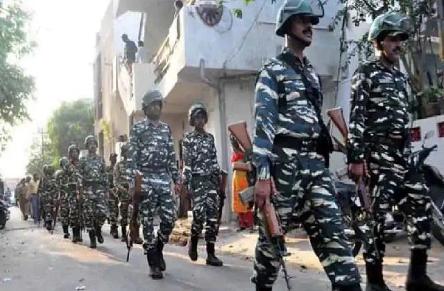 home ministry directs to deploy 71 additional companies of central forces
