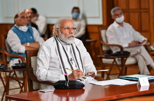 pm modi will communicate with the governor of all states