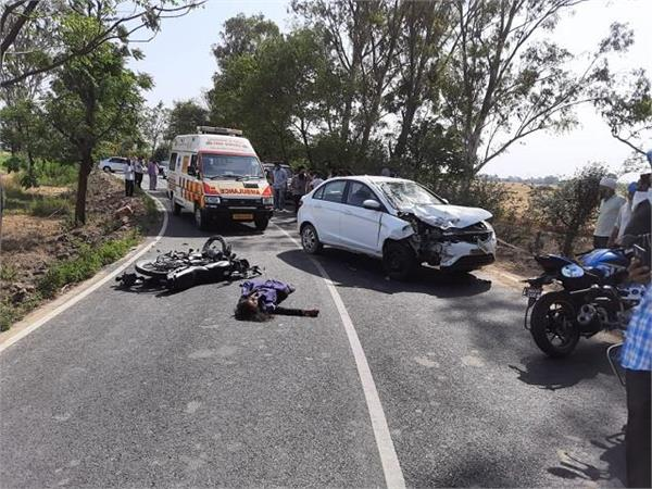 father son died due to accident