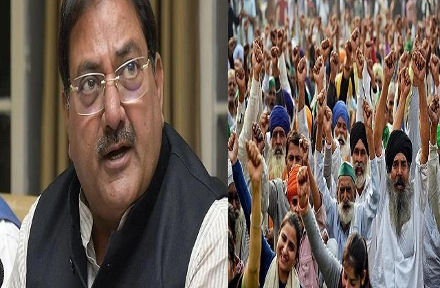 relief to farmers abhay chautala opens 40 bed hospital at singhu border