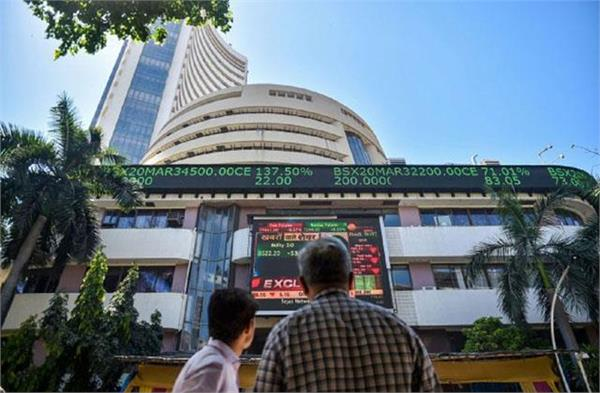 market opens on red mark bse 204 and nifty down 77 points