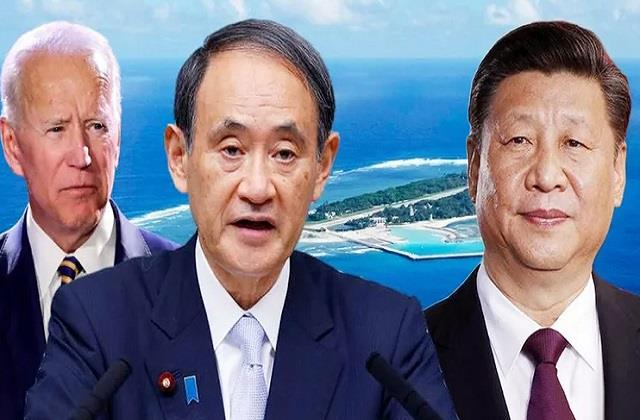biden japanese pm discuss chinese influence over indo pacific