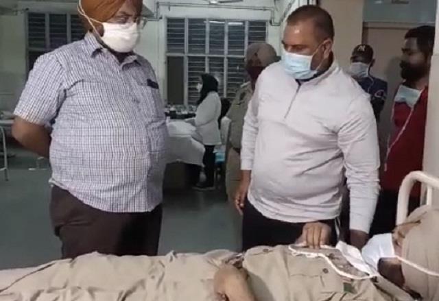 jalandhar attack on sho of bhargava camp