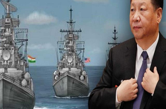 naval exercise in io between quad and france should be for peace china