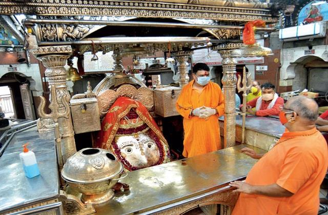 corona virus kalkaji temple in delhi closed for devotees till 22 april