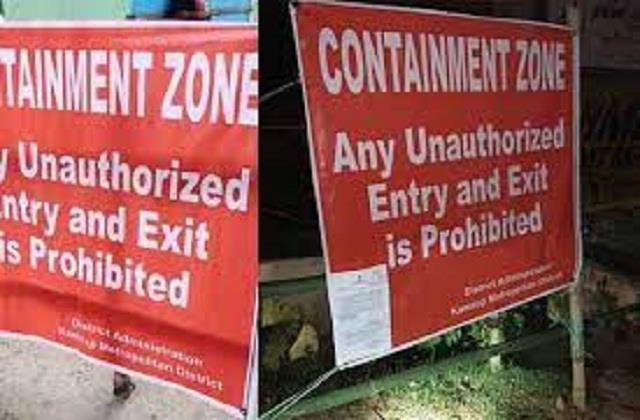 ward 5 6 and 7 of guriyal panchayat also declared as containment zone