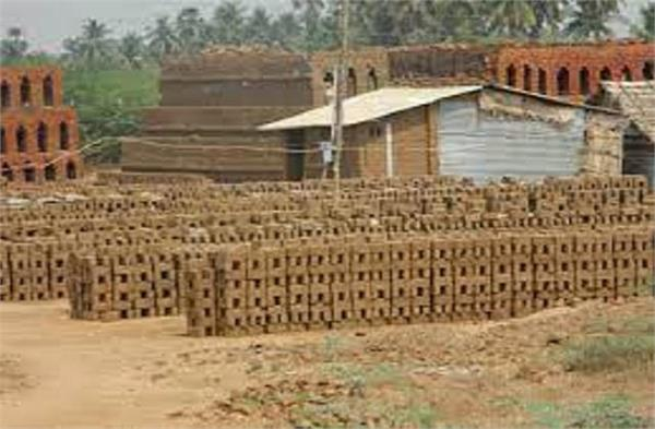 bricks now grow in the fields of the border areas not crops