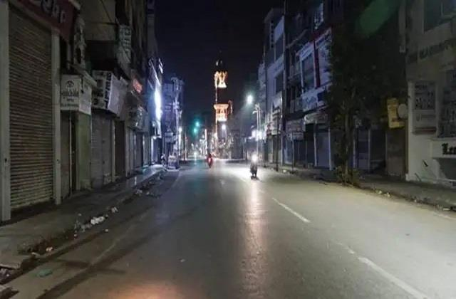 night curfew imposed in mau 151 positive including doctors