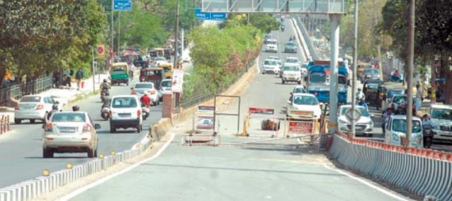 bmc flyover road closed for 2 months