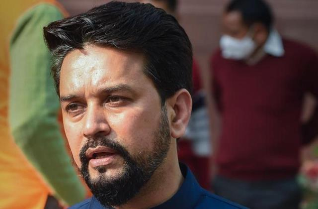 anurag thakur gave this answer on the question of bringing petrol