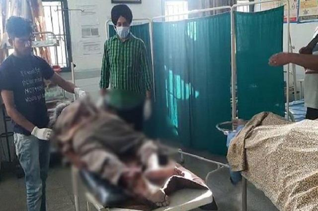 blast in punjab district one person jumped 35 feet