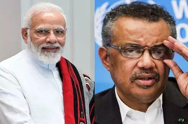 national news punjab kesari who corona virus narendra modi