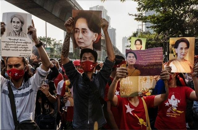 india raises issue of myanmar violence in un