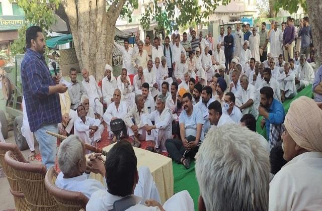 panchayat grandson of former deputy prime minister decided boycott water bills