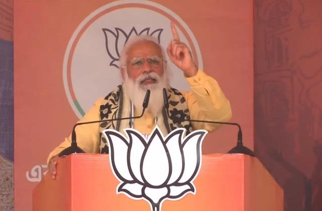 west bengal election narendra modi