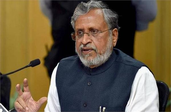 sushil modi accused tejashwi yadav