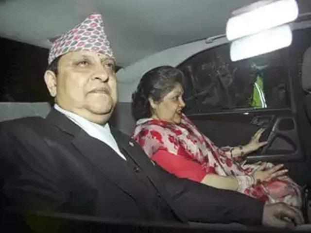 nepal s former king queen test covid positive on return from mahakumbh