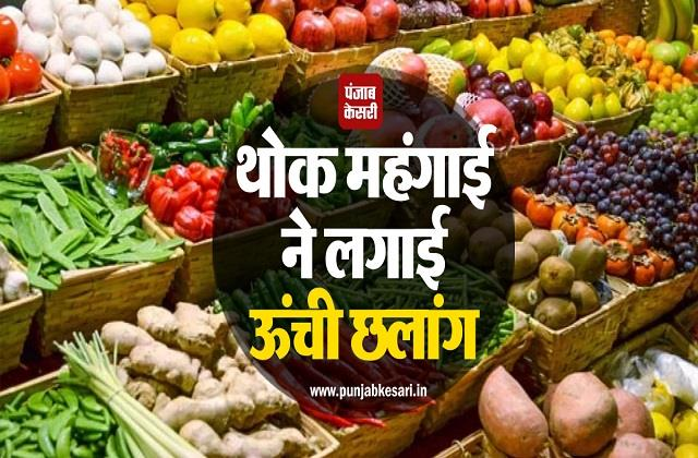 whole sale inflation
